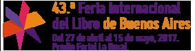 Logo 43.ª Feria Internacional del Libro de Buenos Aires