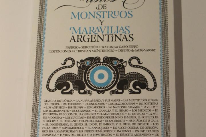 200 años de monstruos y maravillas argentinas - Laura Varsky- Mención Honorífica categoría No Ficción