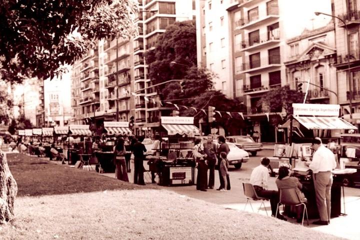 Feria en la vía pública