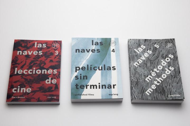 Colección Las Naves - Julián Villagra, Diego Berakha y Victoria Lamas- Mención Destacada categoría Colección Tapa- cubierta