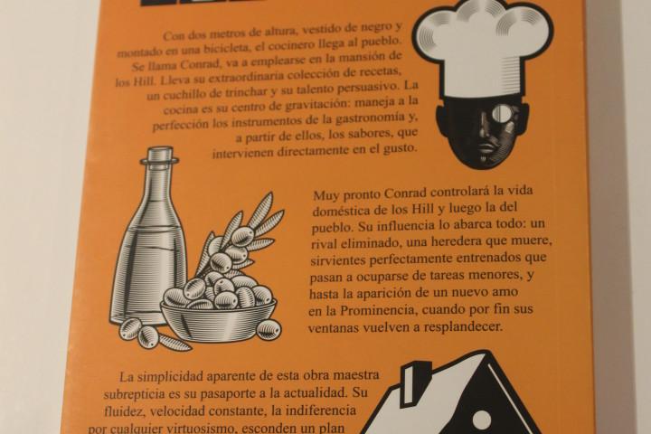 El cocinero - Juan Pablo Cambariere - Mención Honorífica categoría Tapa Cubierta
