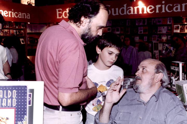 Roberto Fontanarrosa y Osvaldo Soriano