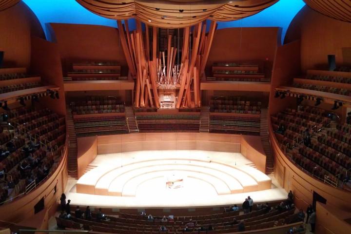 Interior del Walt Disney Concert Hall
