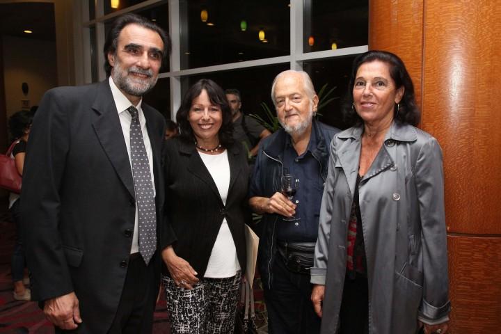 Oche Califa, Cristina Mucci, Daniel Divinsky y Magdalena Faillace