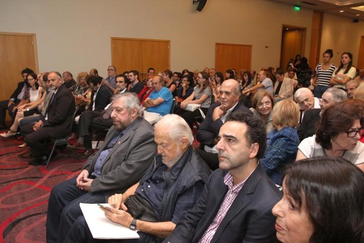Alejandro Vaccaro, Daniel Divinsky y Pablo de Santis