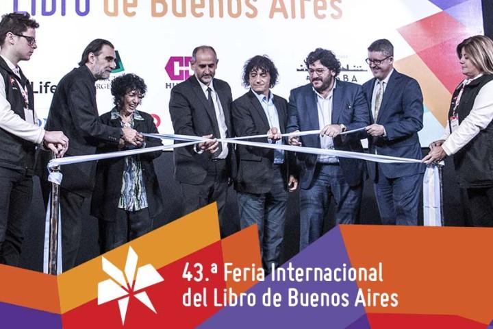 Inauguración de la 43º Feria del Libro de Buenos Aires