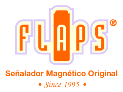 Flaps - Señalador magnético