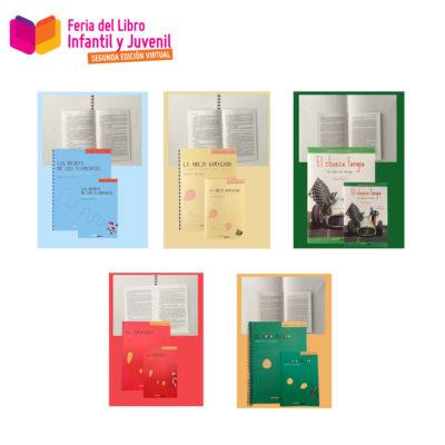 Colección manos que leen clásicos en Braille